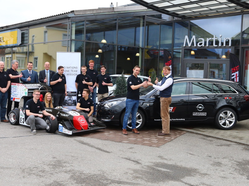Opel Event in Stockach on March Third