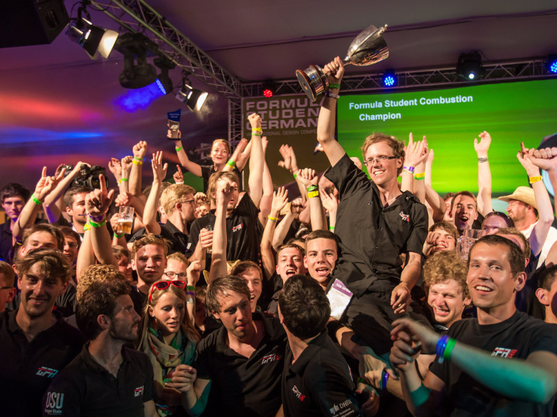 GFR wins overall Formula Student Germany Combustion!