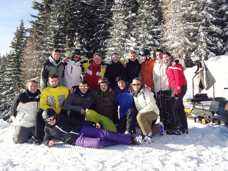 GFR Team Building in Zams (Austria) while New Year's Day