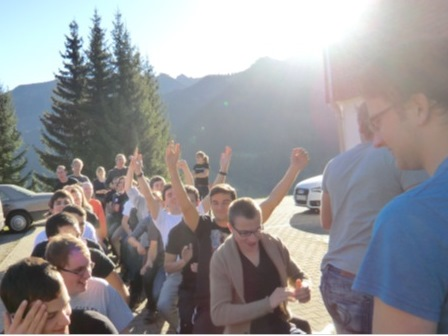 GFR Team Building Weekend in Austria